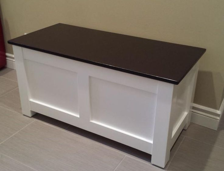 Homemade Entryway Storage Bench Diy Home Decor Kitchen