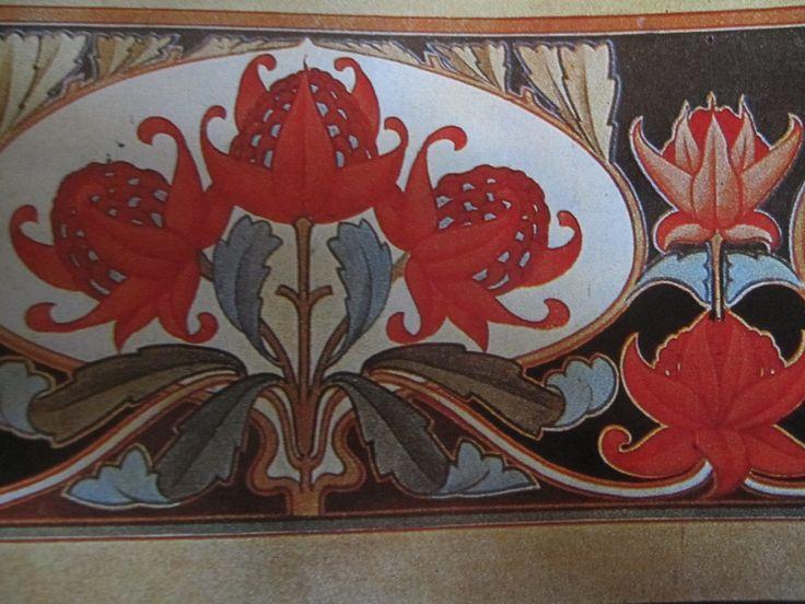 Interior decor - friezes featuring Australian fauna