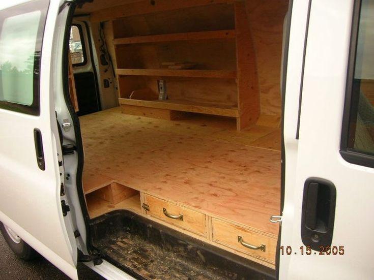 Floor Shelves Sleeping Under The Stars Camper Vans