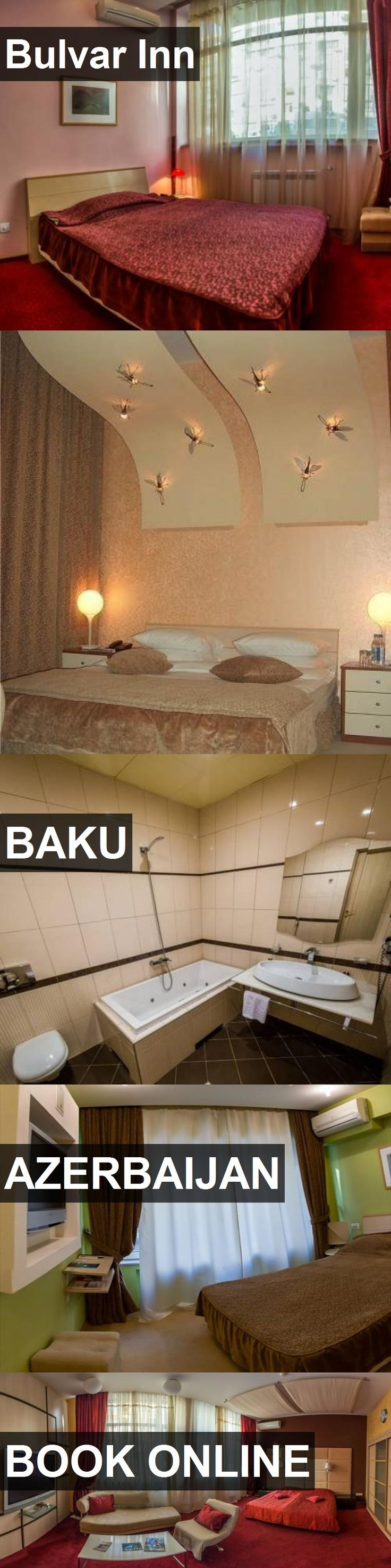 Hotel Bulvar Inn in Baku, Azerbaijan. For more information, photos, reviews and best prices please follow the link. #Azerbaijan #Baku #travel #vacation #hotel