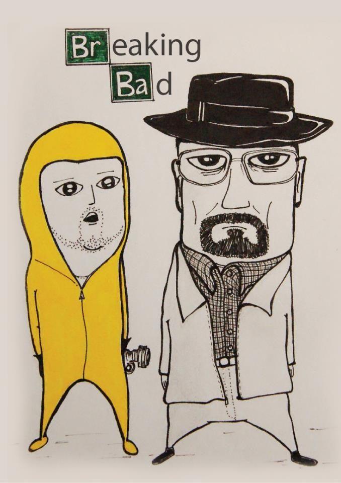 Breaking Bad - Jessie & Walt