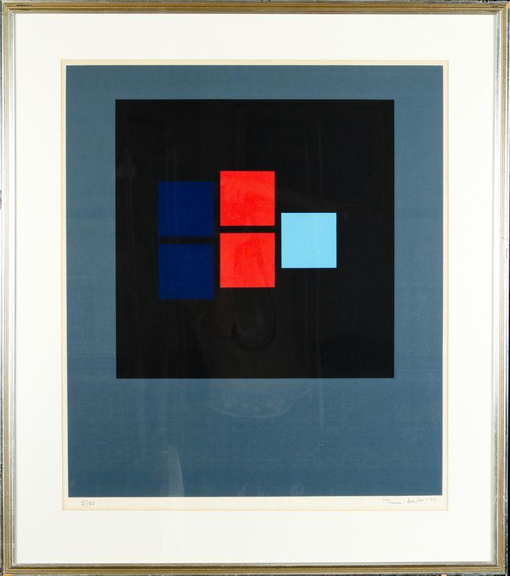 Timo Aalto, 1974, serigrafia, 62x55 cm, edition 5/33 - Hagelstam A131