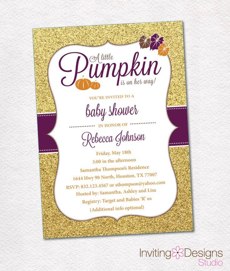 279 best Baby Shower Invitations images on Pinterest   Shower ...
