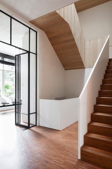 Transformation of a former private museum into a home in Rotterdam by Paul de Ruiter and Chris Collaris
