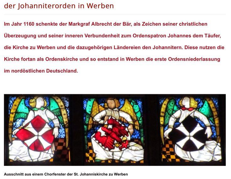 Johanniterorden in Werben/Brandenburg