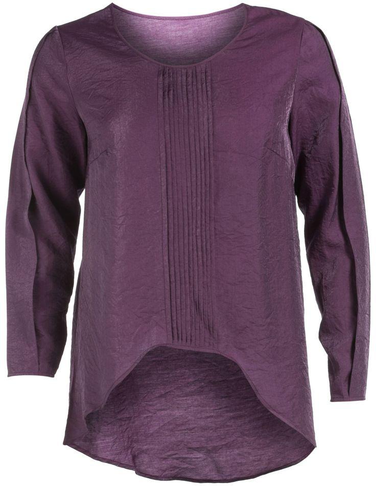 Bluse mit Baumwollanteil von Manon Baptiste in Lila. Bluse mit Baumwollanteil bei navabi online bestellen
