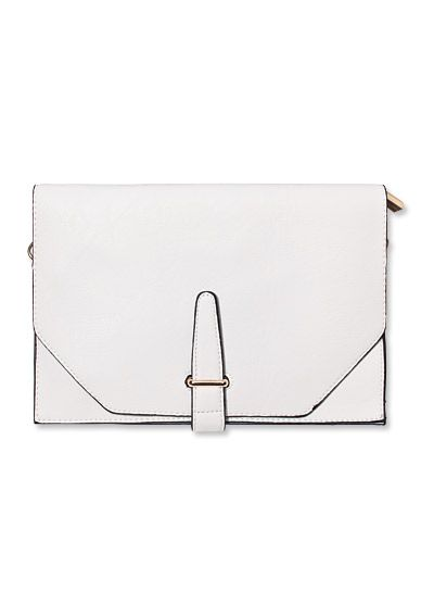 Shop 17 Black-and-White Pieces - Threadsence Clutch from #InStyle
