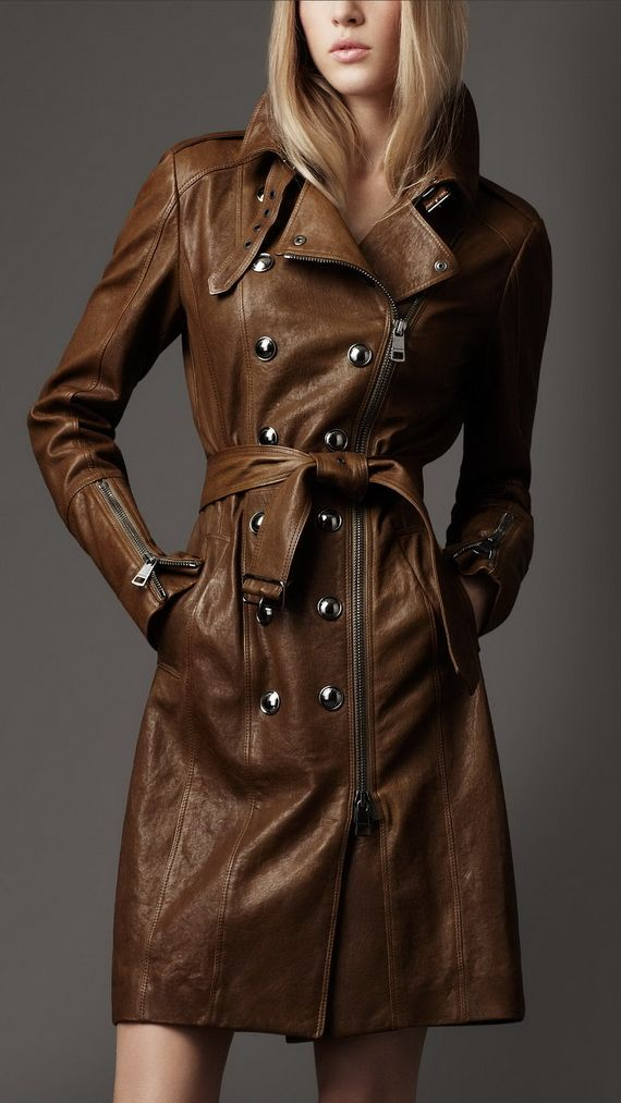 17 Best ideas about Leather Trench Coat on Pinterest | Purple