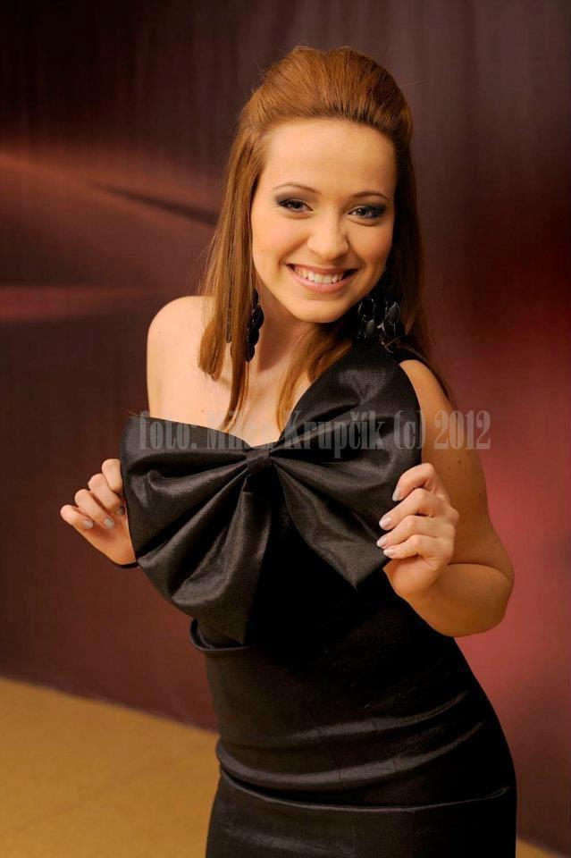 "Singer Dominika Mirgova, season 3 runner-up of ""Slovensko hľadá SuperStar"" - Slovakia's version of #PopIdol / #AmericanIdol"