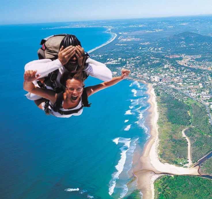Sky Diving Maroochy, Sunshine Coast: