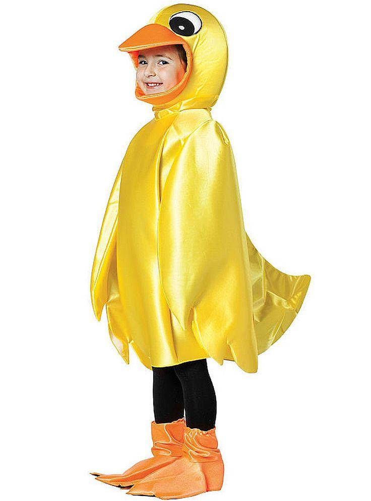 Disfraz de pato amarillo infantil