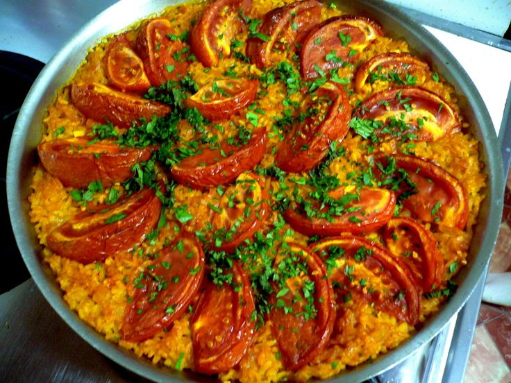 tomato paella ++++ | FOOD - Tapas Party | Pinterest