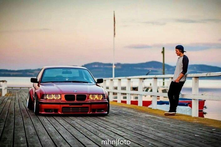 BMW E36 3 series bronze widebody stance | BMW - Ultimate ...