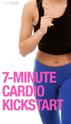 The perfect 7 minute cardio workout!