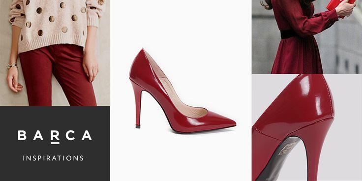Barca al passo con #moda, #stile e... #colore!  #Burgundy un #must dell'autunno 2014