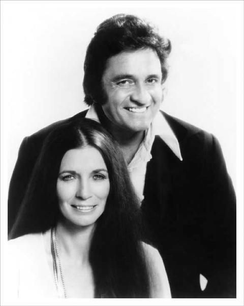 Young Johnny Cash And Vivian Valerie June Carter Ca...