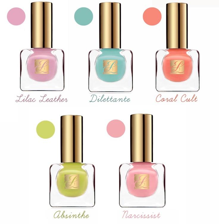 Temporary:Secretary - UK Fashion and Style Blog: S/S 13 Beauty Trend: Heavy Petals by Estée Lauder