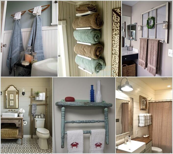 Best 25 Diy Towel Holders Ideas On Pinterest Outdoor