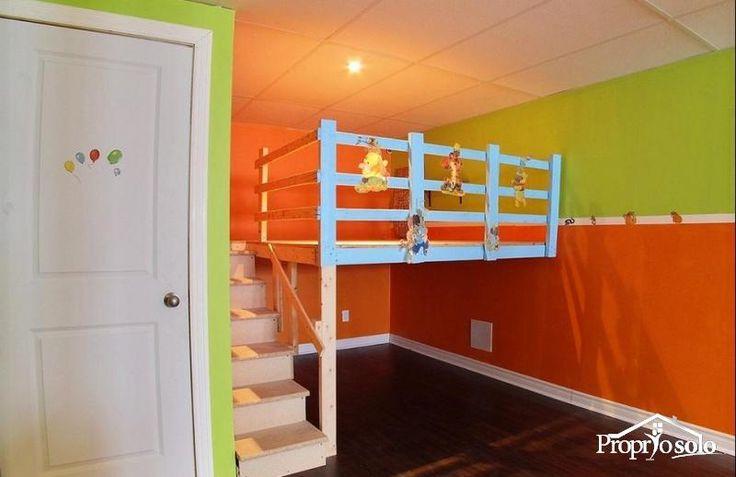 mezzanine salle de jeux recherche google id e pour les. Black Bedroom Furniture Sets. Home Design Ideas