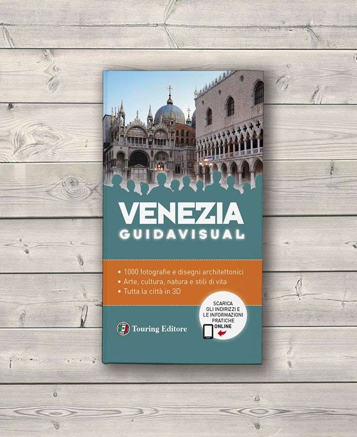 Cover design / Tourist guide / Touring Editore