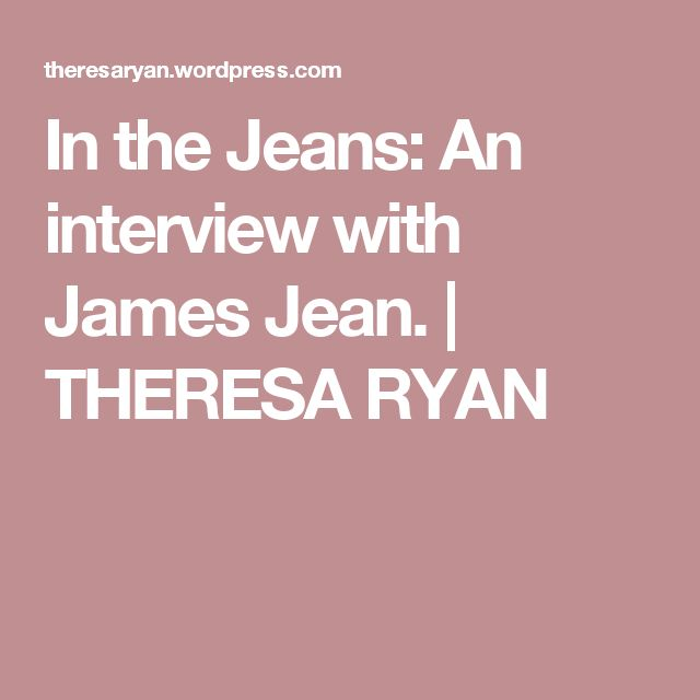 In the Jeans: An interview with James Jean. | THERESA  RYAN