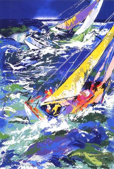 LeRoy Neiman Painting and style are loved by millions of people throughout…