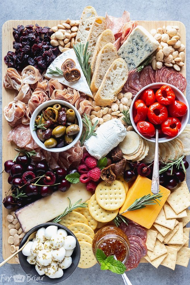 No Party Is Complete Without An Epic Charcuterie Board Follow These Step By Step Photos T Charcuterie And Cheese Board Charcuterie Recipes Party Food Platters