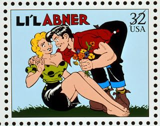 Comic strip classics stamps are mistaken