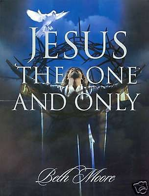 In this book, Beth Moore introduces you to an intimate God in an up-close and personal portrait of Jesus the Messiah. This is far more than just a work on the life of Christ. Jesus One Only Workbook by Beth Moore Bible Study Members Book 46275X. www.Gods411.org