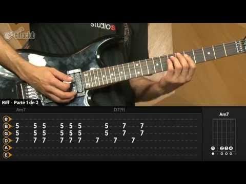 Oye Como Va - Carlos Santana (aula de guitarra) - YouTube
