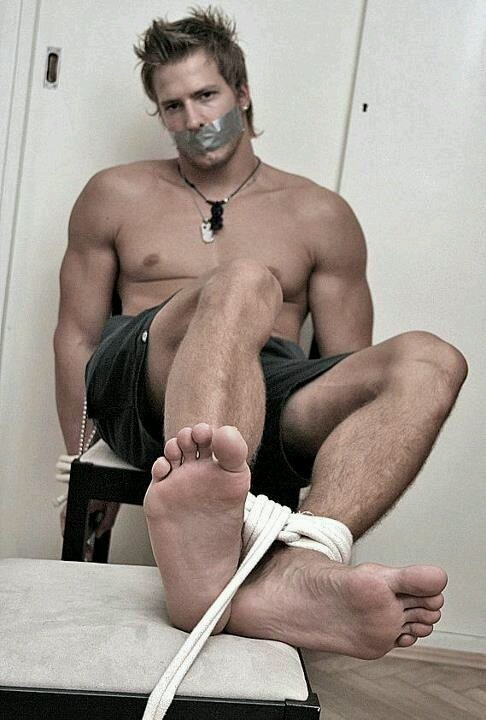 image Male bondage tied gay a mutual