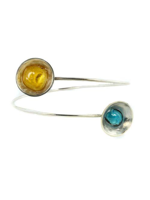 Bracelet Hemisphere With  Glass