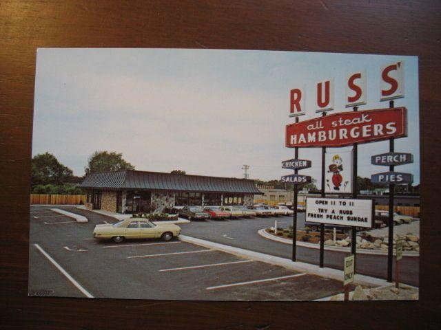 Vintage 1960u0027s Russu0027 Restaurant Holland Michigan Postcard | EBay