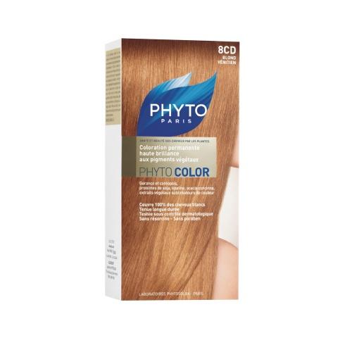 Phyto Phyto Color Tinte Rubio Veneciano - 8Cd Con extractos de plantas tintóreas (de 57 a 61% según el tono).