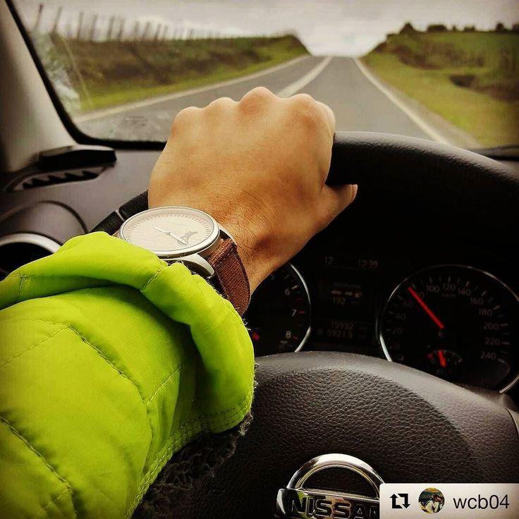 Desde #temuco en la carretera con un  #castordual  gentileza de @wcb04. Ven por el tuyo en www.castor-watches.com  Envío gratis en todo #chile whatsapp: 5699403375 #castorwatches #relojes #reloj #relojesdemadera #watches #watch #woodenwatch #accesorios