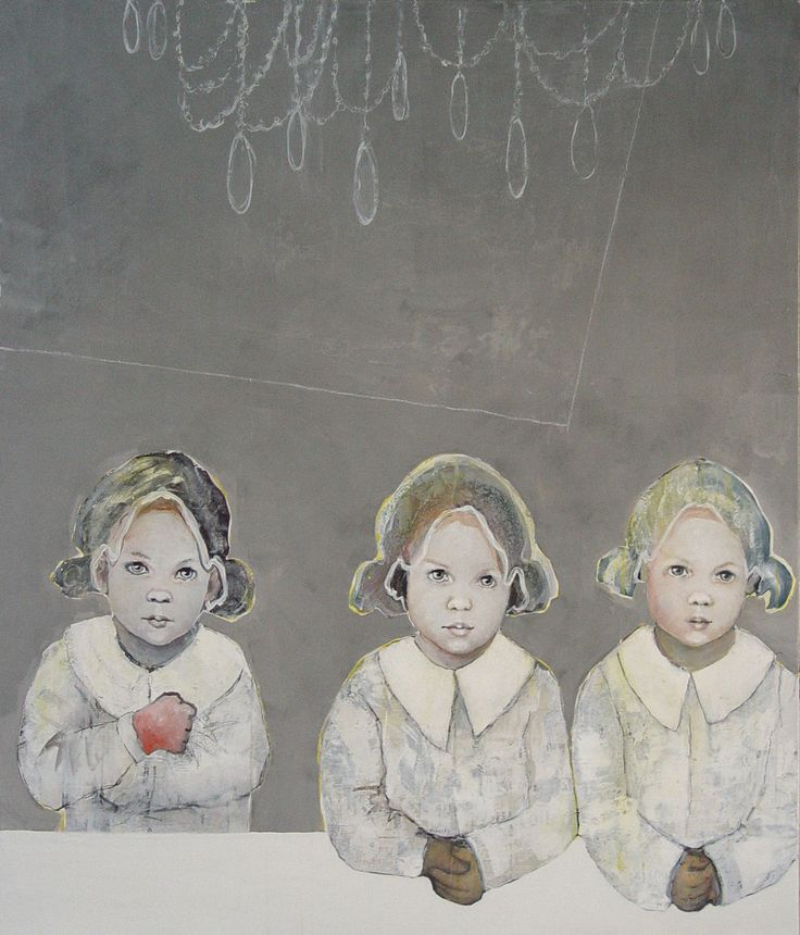 Meisjes aan witte tafel (2011)