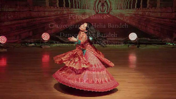 """Bidad"" Persian Classical dance Helia Bandeh بیداد رقص کلاسیک ایرانی هلی..."