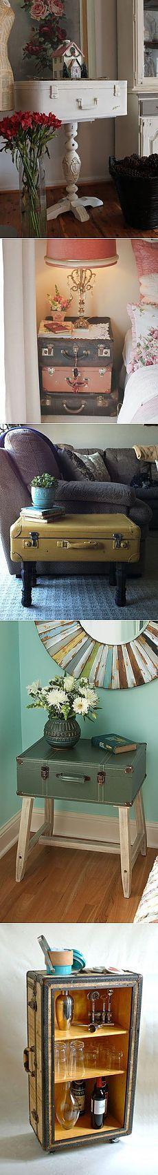 Handmade Club. Старый чемодан-в дело.