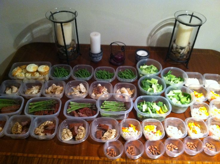 meal preparation for week bodybuilding or weightloss.. You ...