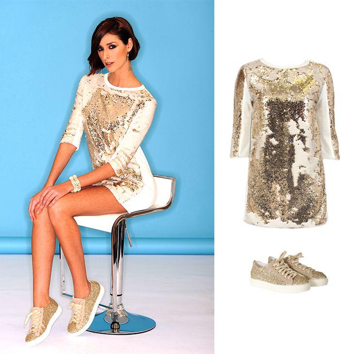 Casual chic! Wat vinden jullie van deze bling bling jurk? Hot or not? Shop @ http://www.bobotremelo.be/nl/pr-pashokje.11132