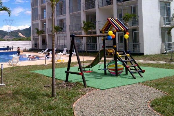 Parque Infantil en Apartamento Flandes Renta 3164981652 http://www.apartamentoflandes.com