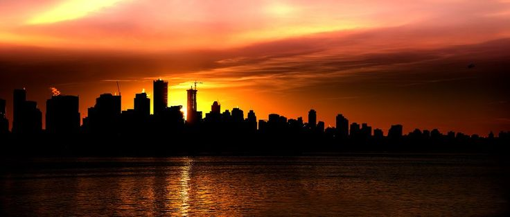 Vancouver Sunset Photo by Paul Yates -- National Geographic Your Shot