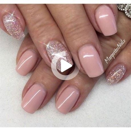 modele ongle en gel court in 2020  pink gel nails short