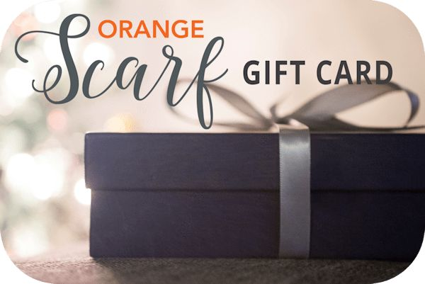Orange Scarf Gift Card