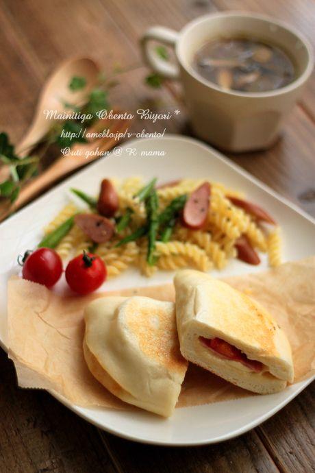 「手捏ねパニーニと簡単ランチプレート♪~お家ご飯~」の画像|毎日がお弁当日和♪ |Ameba (アメーバ)