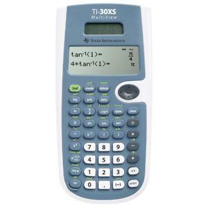 a texas instruments ti30xs solar calculadora cientifica con multilineas expositor