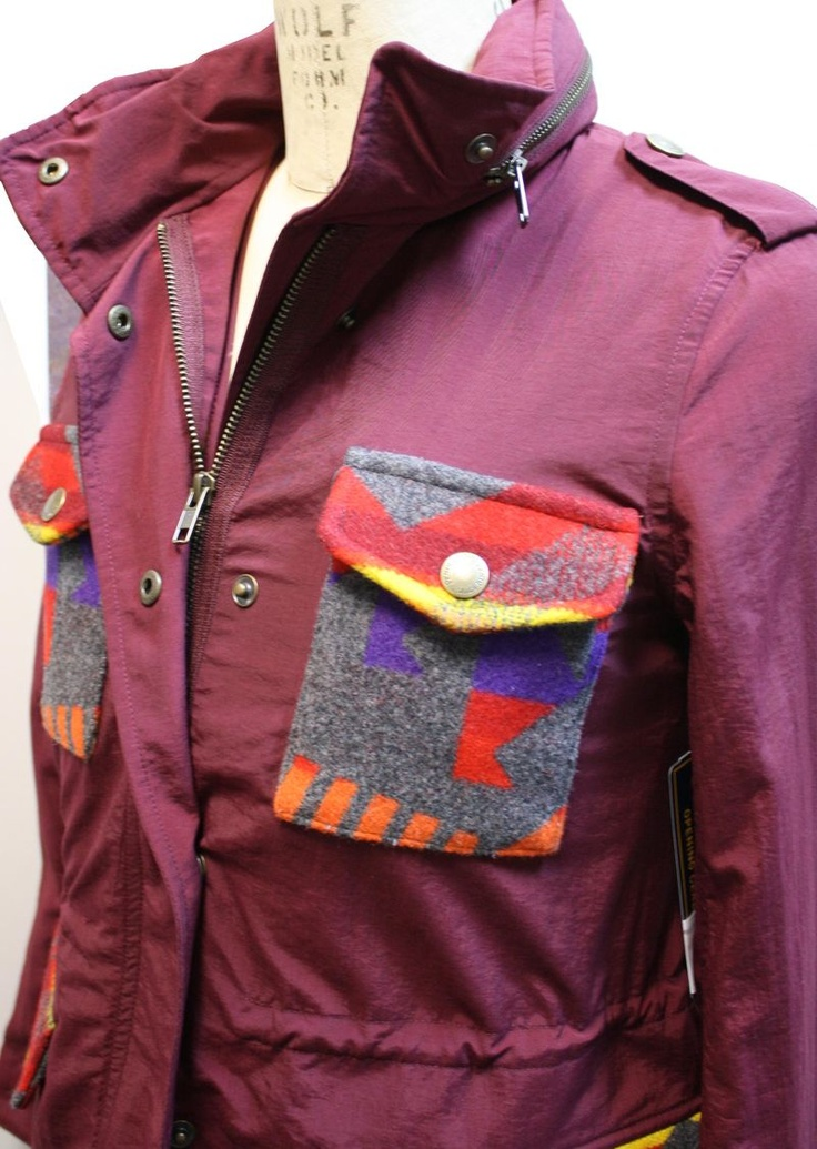 Fall jacket- Pendleton meets Opening Ceremony from the second Spring collaboration.