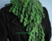 Items similar to Craft it yourself - centipede scarf pattern - description in American or British English on Etsy