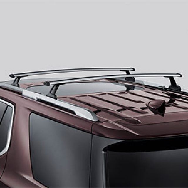 Removable Roof Rack Cross Rail Package In Silver Chevy Accessories Chevrolet Accessories Accessories Design