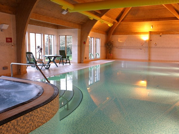 Just keep swimming away in the Sonas Spa at Loch Fyne Hotel in Argyll